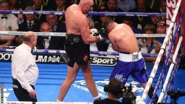 Tyson Fury wins