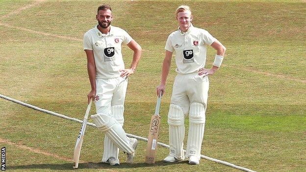 Jack Leaning and Jordan Cox