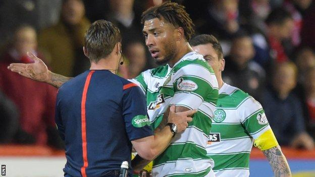 Colin Kazim-Richards makes his Celtic debut