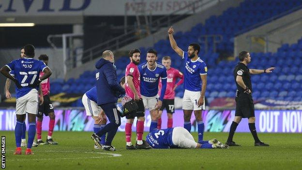 Joe Bennett down injured