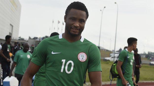 Nigeria's John Mikel Obi