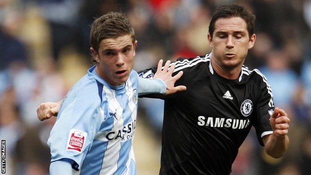 Jordan Henderson and Frank Lampard