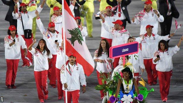 Lebanon Olympic team