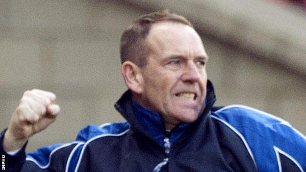 Derry City's new manager Kenny Shiels