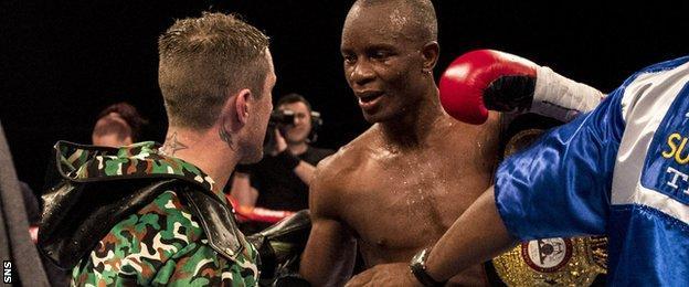 Ricky Burns and Julius Indongo