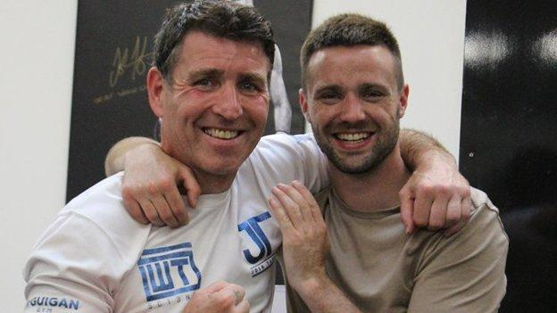 Terry McCormack and Josh Taylor