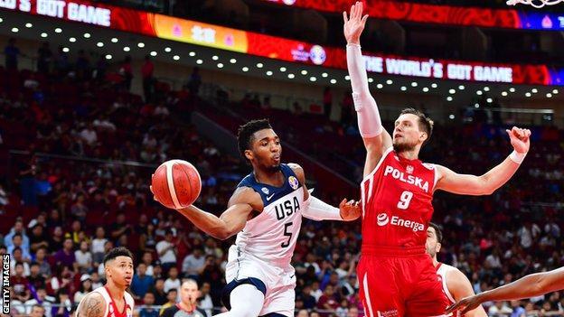Utah Jazz shooting guard Donovan Mitchell