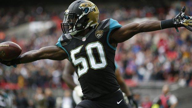 3b7454df Jacksonville Jaguars 34-31 Buffalo Bills: Hurns seals Wembley win ...
