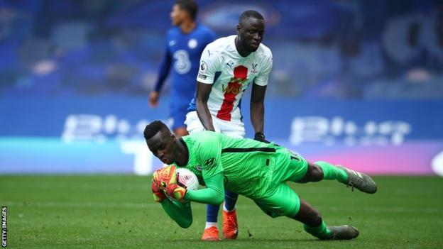 Senegal keeper Edouard Mendy in action for Chelsea against Crystal Palace  The key African football transfers | Daily's Flash  114794919 mendychelsea getty 1278259753 1  The key African football transfers | Daily's Flash  114794919 mendychelsea getty 1278259753 1