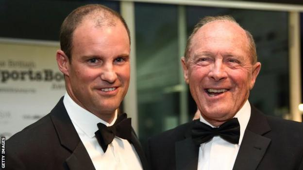 Andrew Strauss and Geoffrey Boycott both captained England