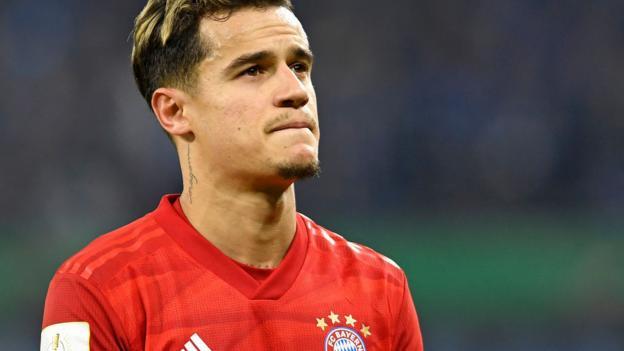 Transfer rumours: Coutinho, Koulibaly, Sancho, Icardi, Aubameyang thumbnail