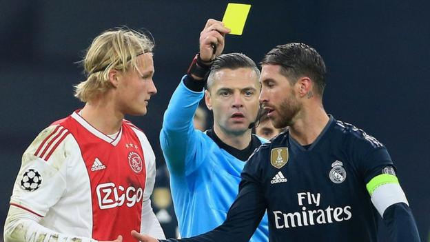Sergio Ramos: Real Madrid gets two-game European ban for 'deliberate booking' thumbnail