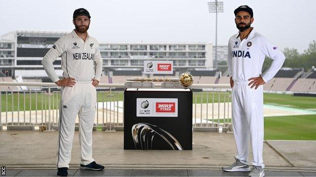World Test Championship final: New Zealand and India 'excited' for historic final - BBC Sport