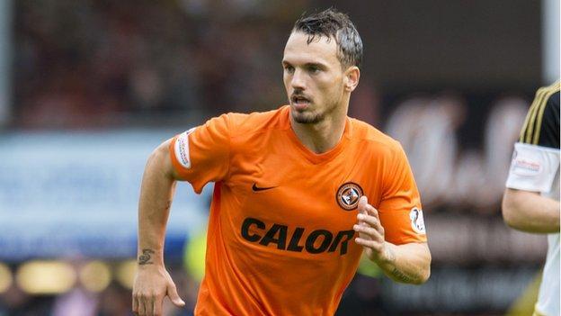 Dundee United's Rodney Sneijder