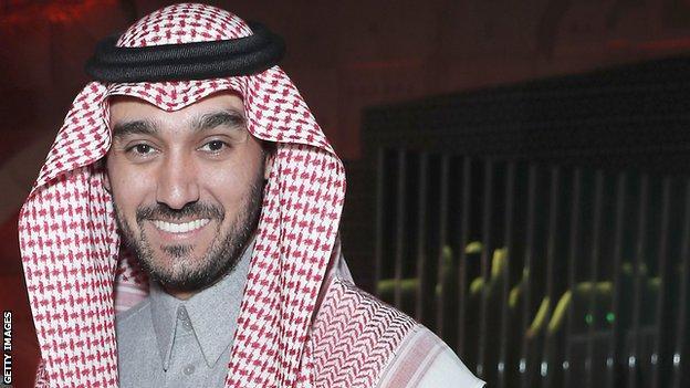 Sports Minister HRH Prince Abdulaziz bin Turki Al Faisal