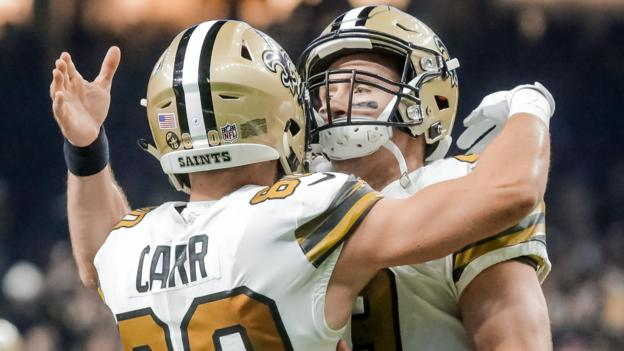 NFL week 11 review: Philadelphia Eagles suffer record defeat as New Orleans Saints win again thumbnail