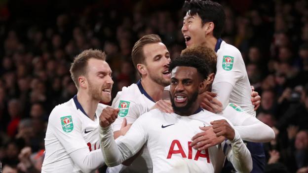 Arsenal 0-2 Tottenham: Spurs reach Carabao Cup semi-finals thumbnail