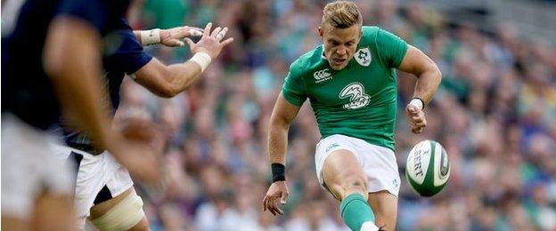 Ian Madigan was on form for Ireland against Scotland