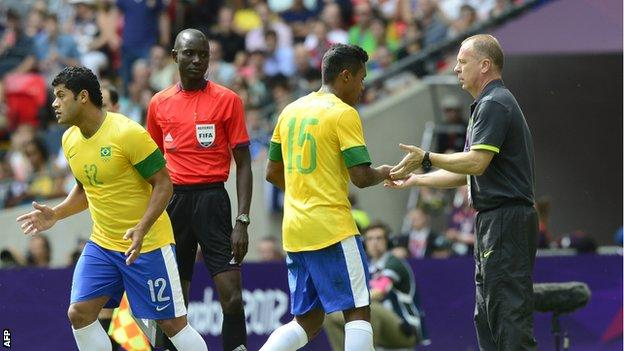 Olympic football substitution