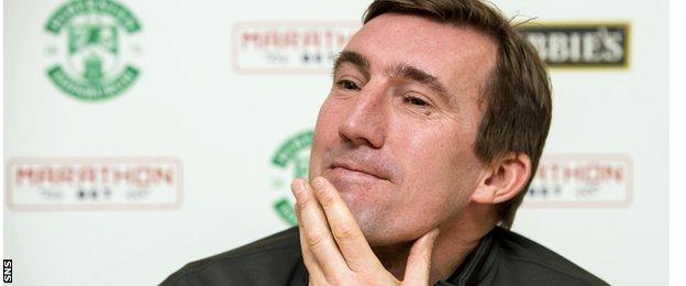Stubbs is relishing the prospect of working with Stokes at Hibs