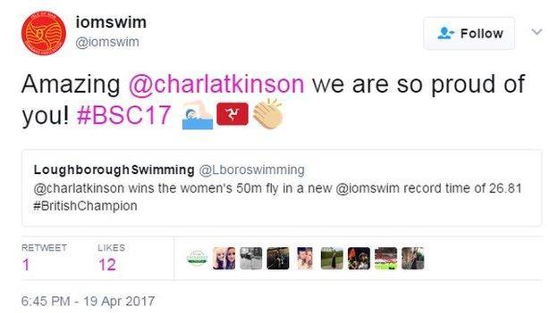Isle of Man Swimming