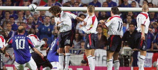 England v France Euro 2004