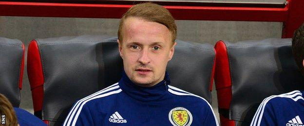 Scotland striker Leigh Griffiths