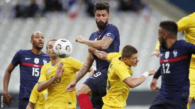 Giroud overtakes Platini to go second on France scorers list thumbnail