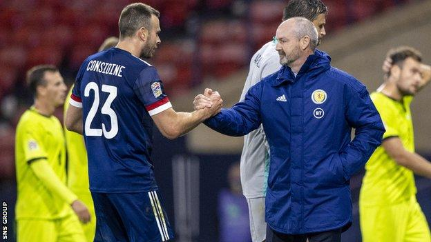 Scotland beat Israel on penalties and recorded 1-0 wins against Slovakia and the Czech Republic last month