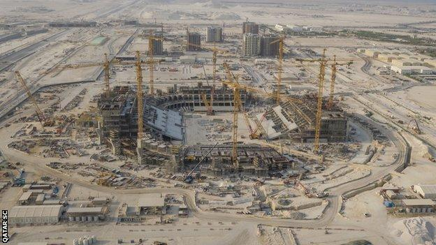 The 80,000-seater Lusail Stadium will host the opening match and final