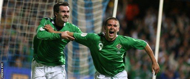 David Healy and Keith Gillespie