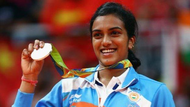 PV Sindhu: How India's Olympic badminton star became a sponsors' dream on £126,000 a week thumbnail