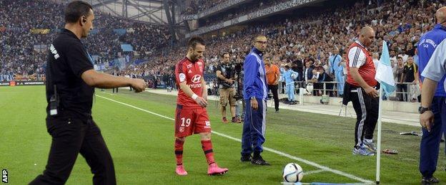 Mathieu Valbuena at Marseille