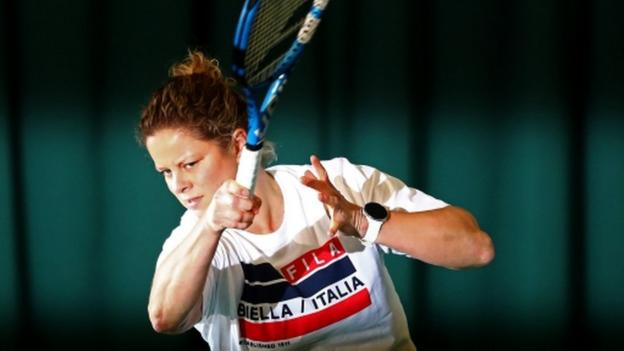Kim Clijsters on Australian Open air quality, her comeback & doing the splits thumbnail
