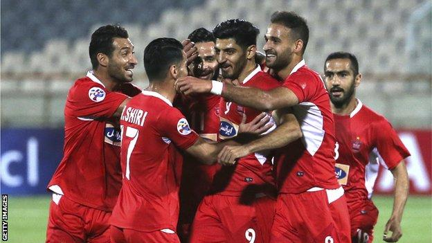 Iran Clubs To Quit Afc Champions League Over Home Game Ban Bbc Sport