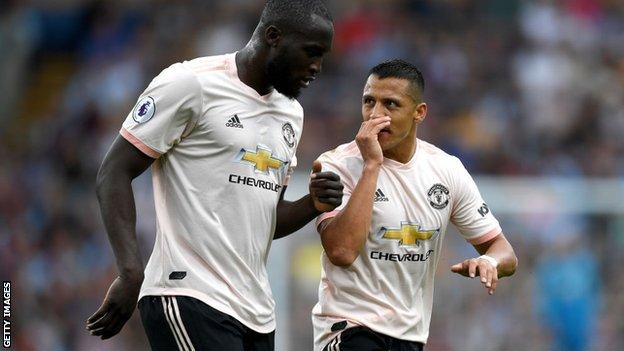 Romelu Lukaku and Alexis Sanchez