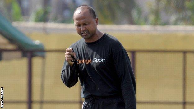 Former Madagascar coach Franck Rajaonarisamba
