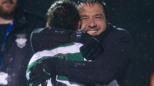 Celtic Women 2-1 Glasgow City: Champions beaten in opener - bbc