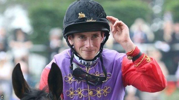 Ryan Moore won the race for the third consecutive year