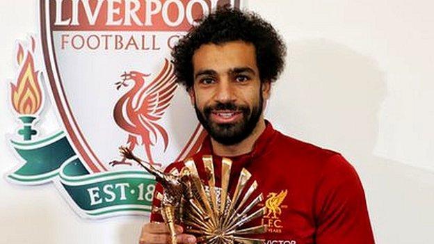 Egypt and Liverpool star Mohamed Salah