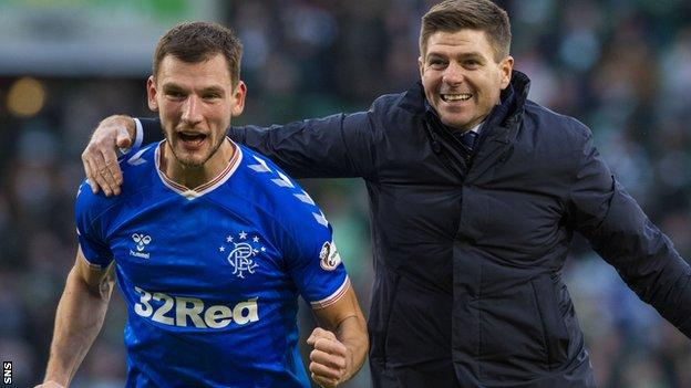 Borna Barisic has risen to prominence in Steven Gerrard's Rangers side after a difficult start