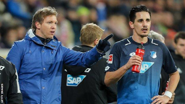 Hoffenhem coach Julian Nagelsmann