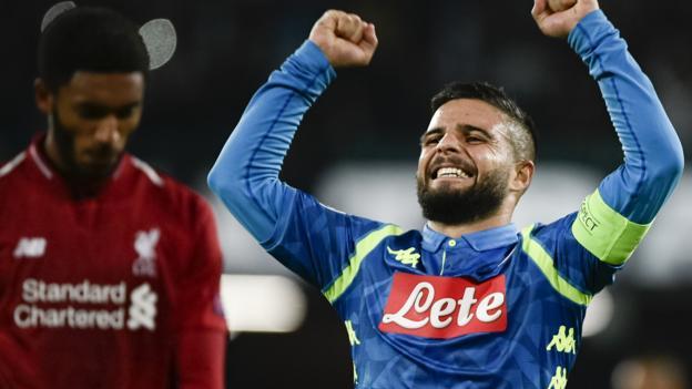 Liverpool FC Team /& Tactical Line-ups UEFA CL 2018//19 SSC Neapel Napoli