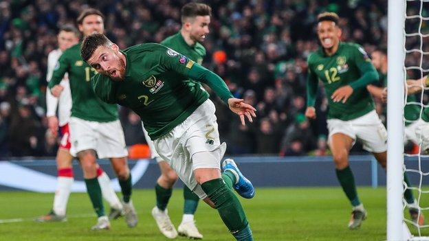 Matt Doherty will be out to add to to his goals tally under Stephen Kenny