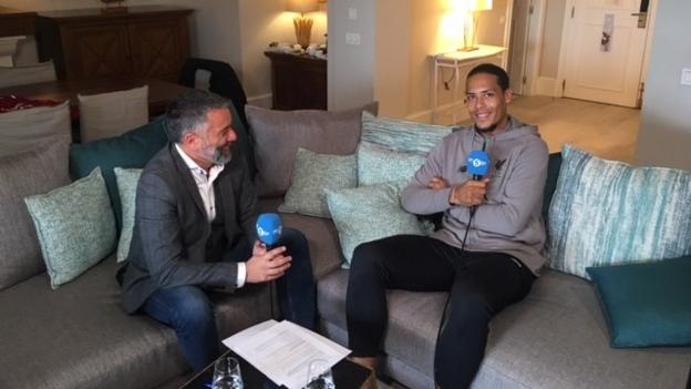 Virgil van Dijk wants to be 'a legend of Liverpool' - in-depth wide-ranging BBC interview thumbnail