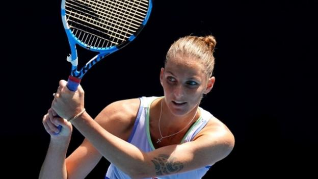 Australian Open: Karolina Pliskova through to second round thumbnail