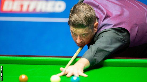 Matthew Stevens is out of the World Championship after losing to John Higgins, who has reached the last three Crucible finals