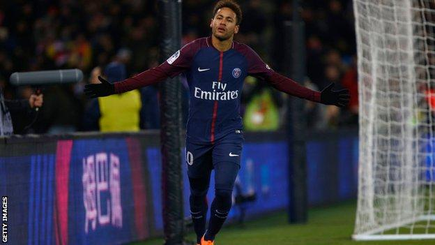 Neymar: PSG forward 'would take 15m euros pay cut' to rejoin Barcelona