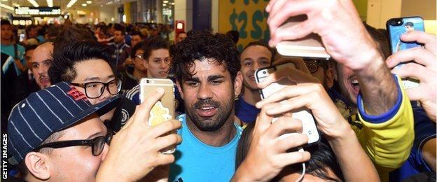 Diego Costa fans