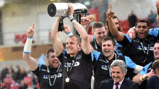 Glasgow won the Pro12 title for the first time